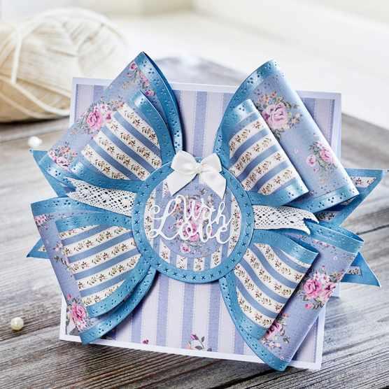 How to make a bow fold card_main