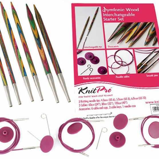 Knitting set for beginners KnitPro Symfonie