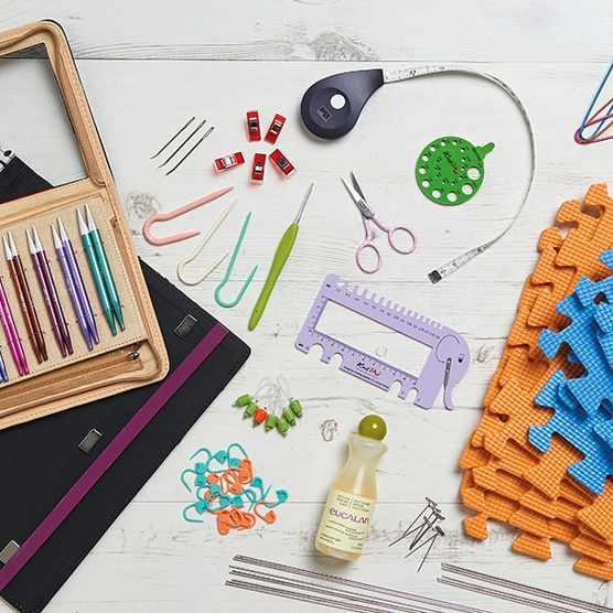 Knitting starter kit for beginners