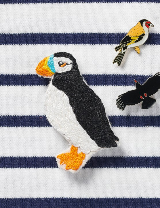 Puffin brooch by Liz Padgham-Major