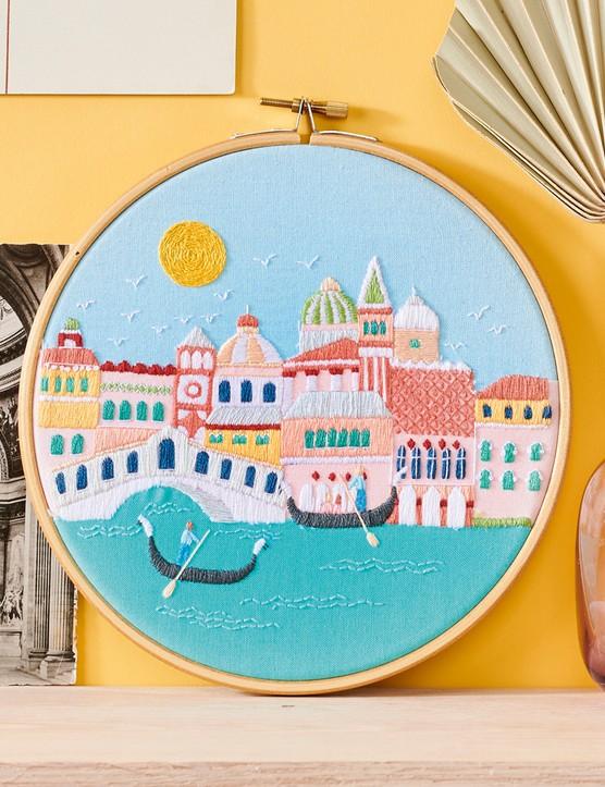 Venice hoop by Georgie Emery