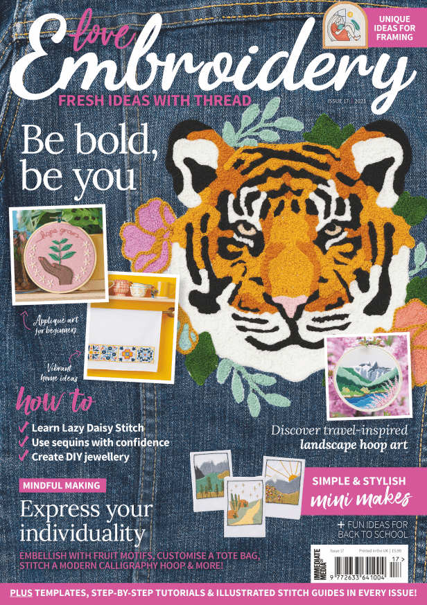 Love Embroidery issue 17