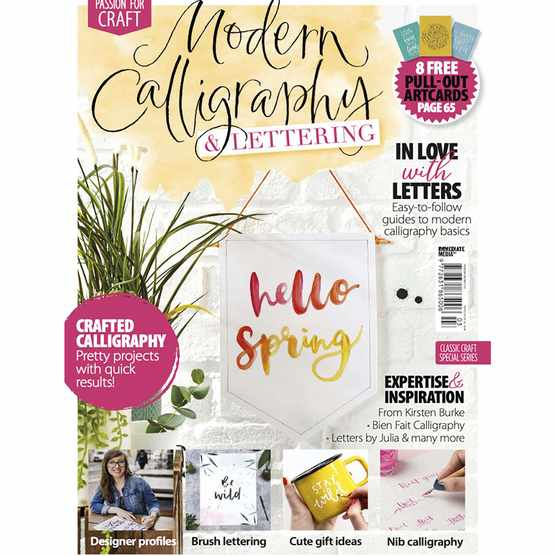 Modern calligraphy issue 2 cover