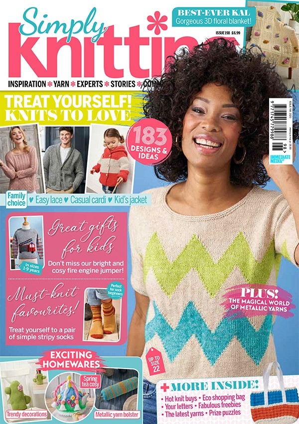 Simply Knitting 198 cover