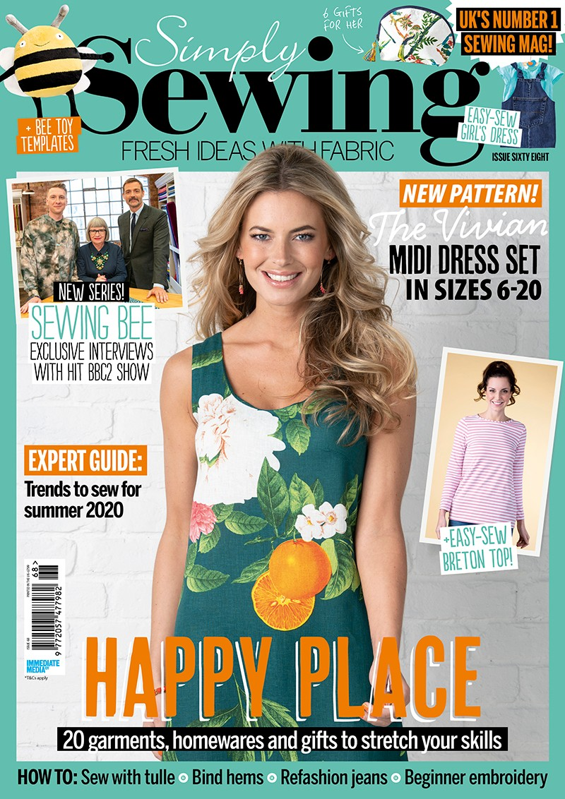Simply Sewing magazine issue 68