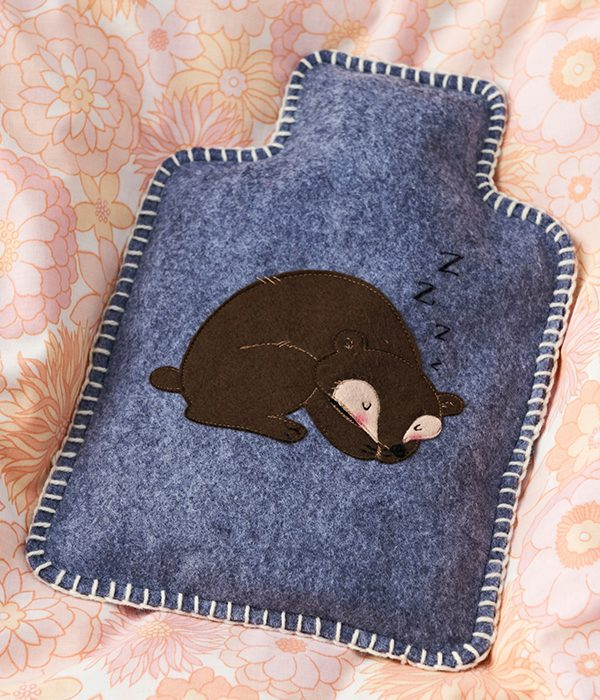 10. How to make a hot water bottle cover