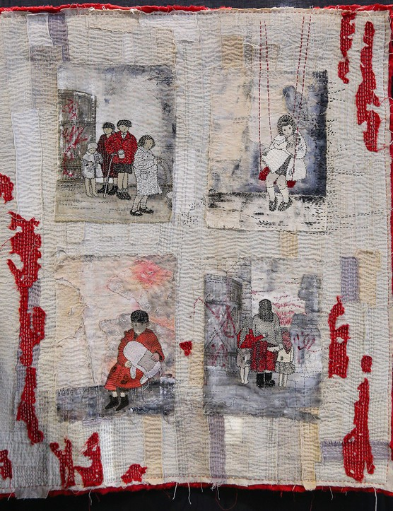 Festival of Quilts Novice 1st - Katarzyna Plesniak - Pieces of memories