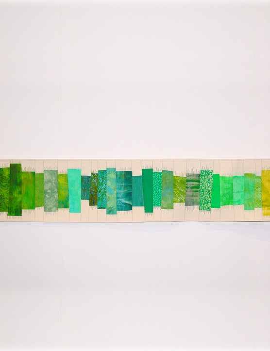 Festival of Quilts QG Challenge 1st - Kate Dowty - Forty Shades of Green