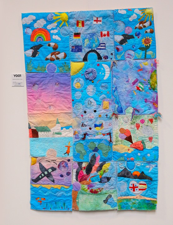 Festival of Quilts Schools Primary 1st - Shenley Brook End School - Memories, the mind is a puzzle
