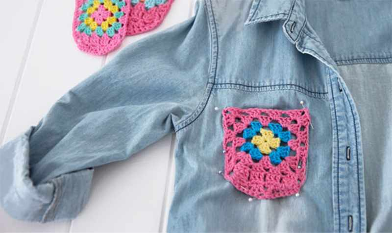 Granny square crochet ideas