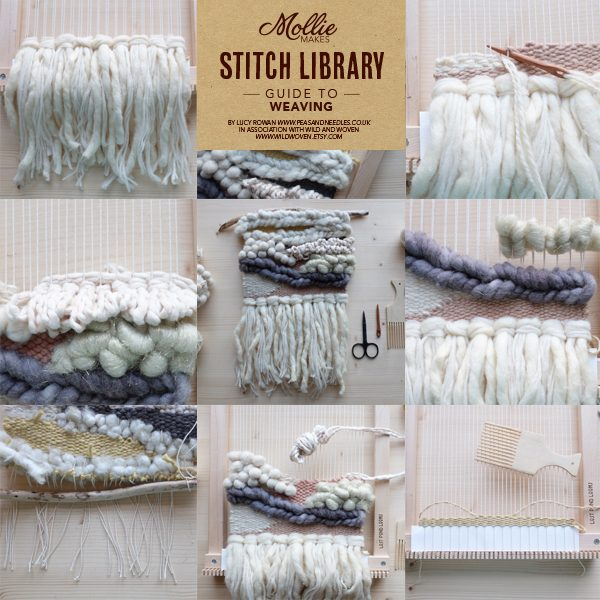 Library of weaving techniques