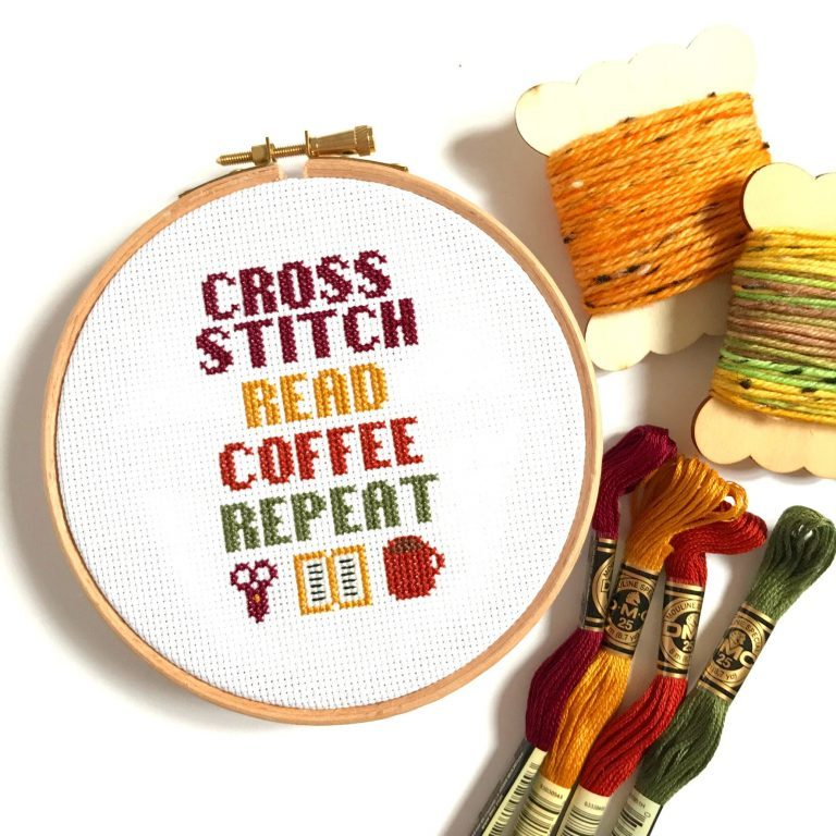 19. 47 winter cross stitch patterns