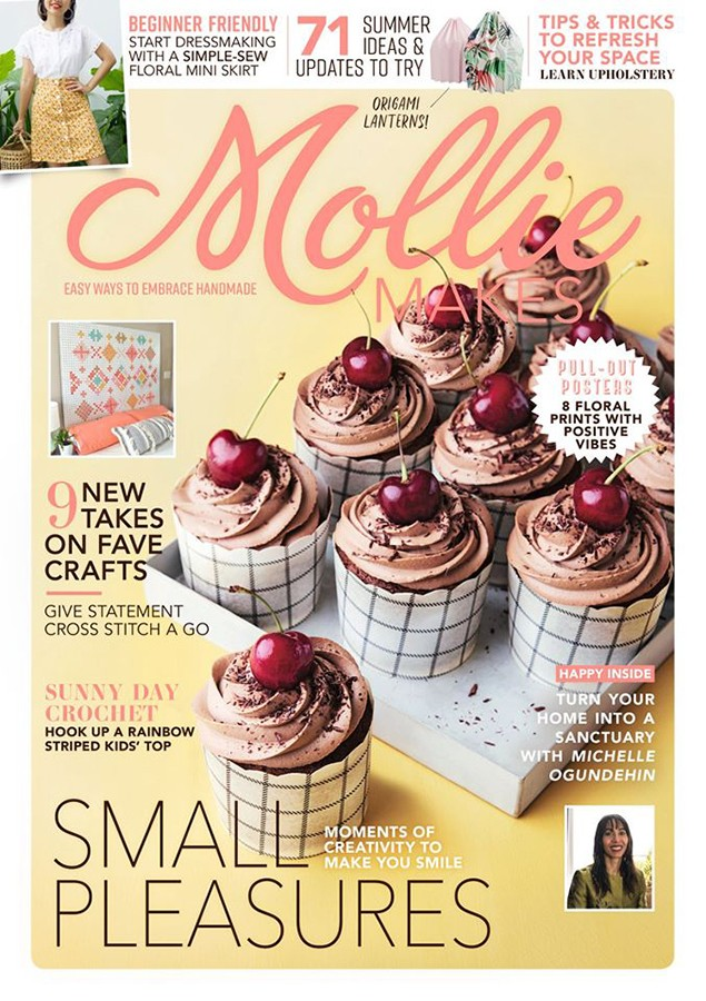 119 Mollie Makes cover