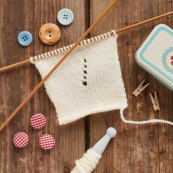 How to increase a stitch in knitting