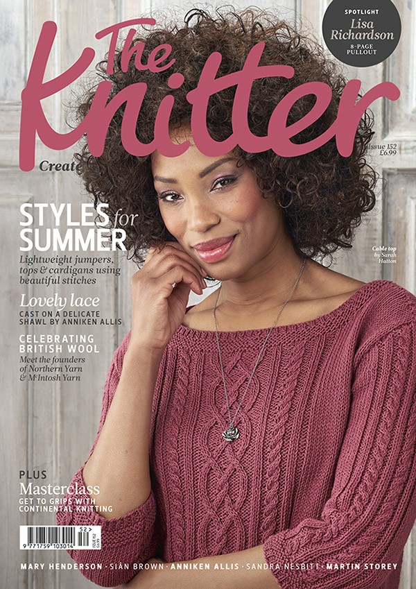 The Knitter issue 152 cover