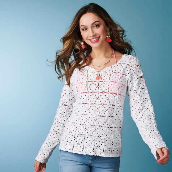 White_hot_crochet_top