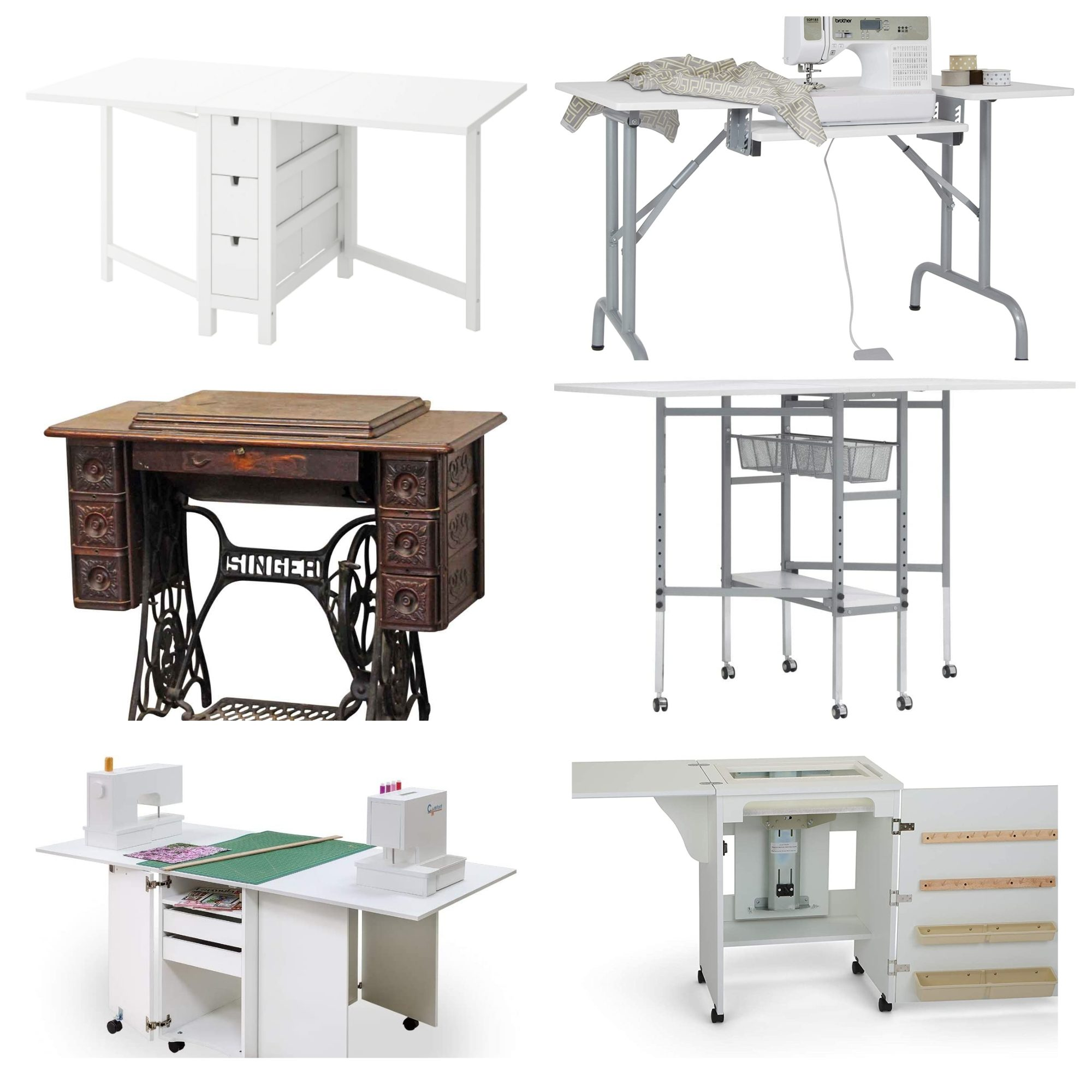 10 of the best sewing machine tables in 2020
