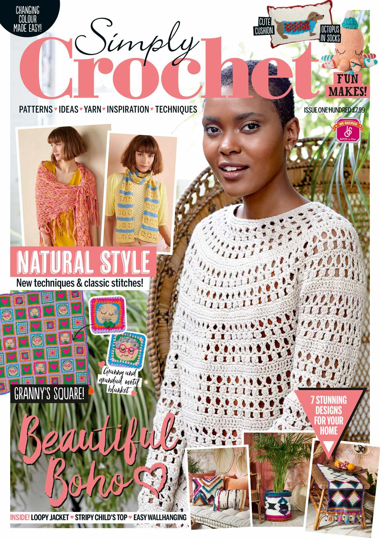 Simply Crochet Issue 100 Cover