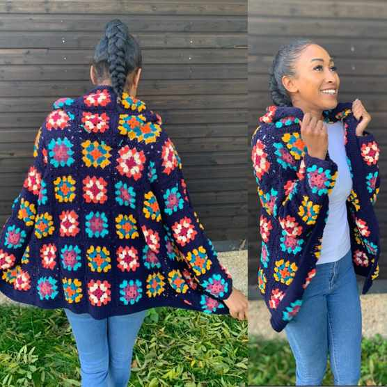 granny square jacket pattern