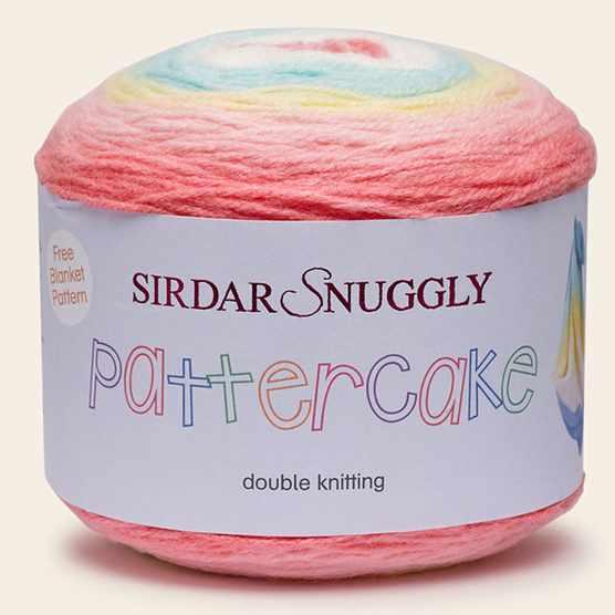 best yarn for baby blanket, Sirdar Snuggly Pattercake DK