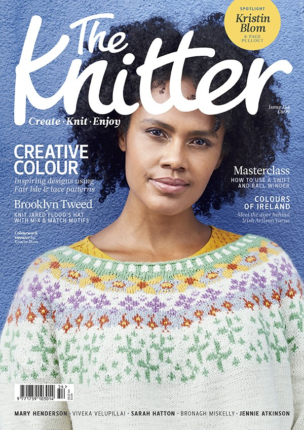 The Knitter 154 cover