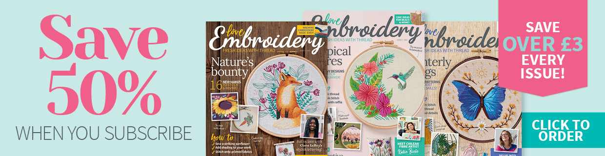 Love Embroidery magazine subscription