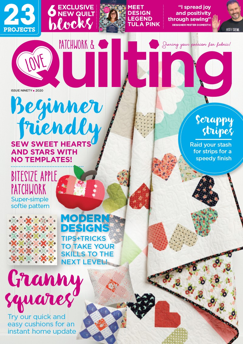 Love Patchwork and Quilting magazine issue 90