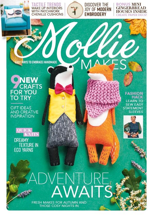 Mollie Makes magazine issue 121