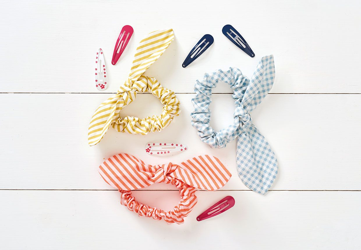 7. How to make a scrunchie