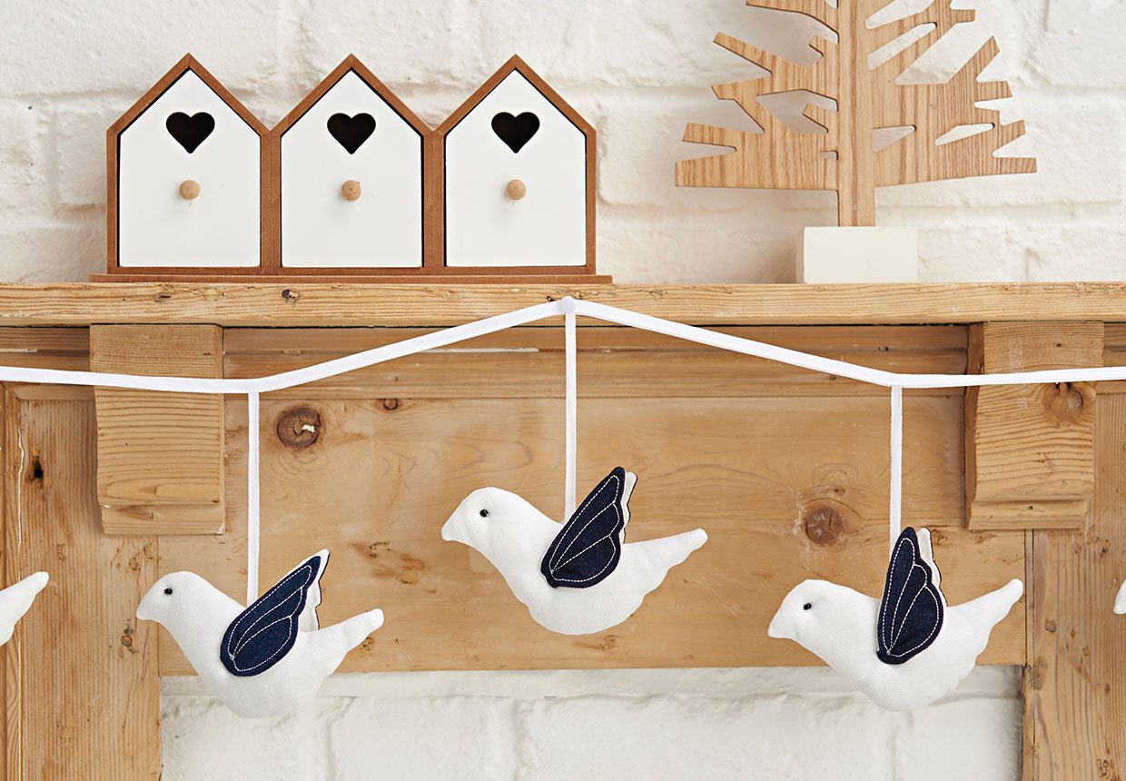 18. How to make dove decorations