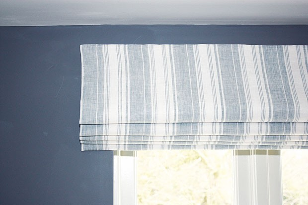 How To Make Diy Roman Shades Step By Step Gathered