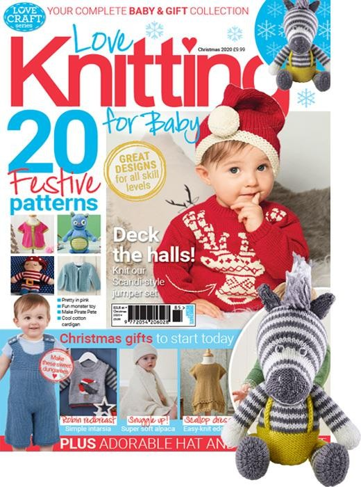 love knitting for baby christmas 20 cover