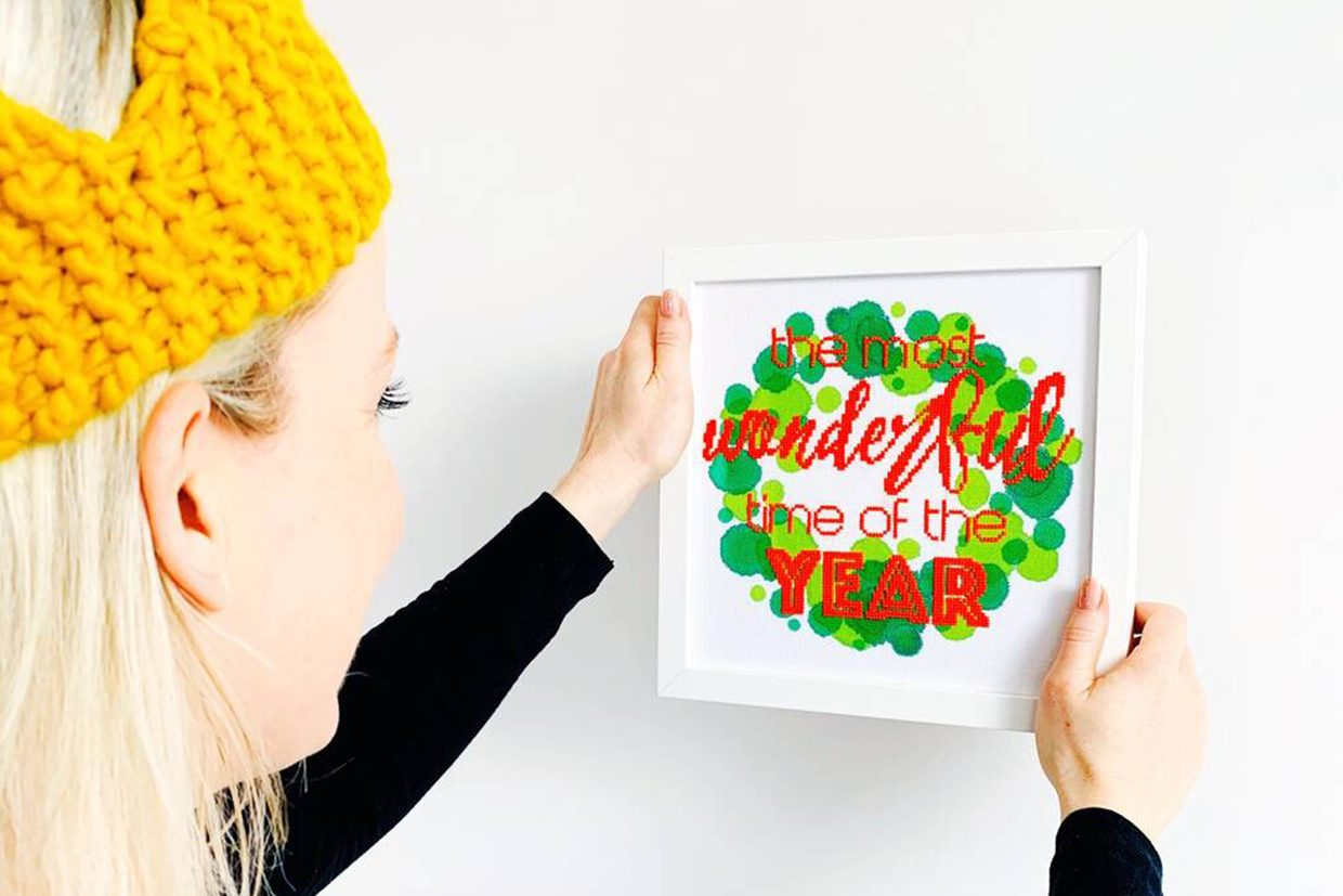 23 best Christmas cross stitch kits: stockings, cushions and more