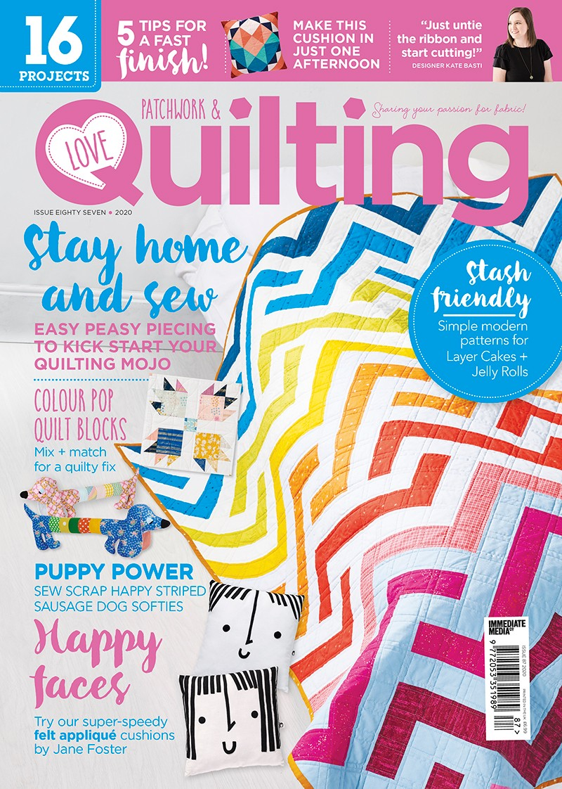 Love Patchwork and Quilting issue 87