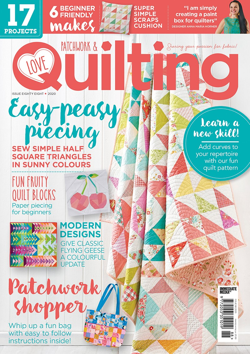 Love Patchwork and Quilting issue 88