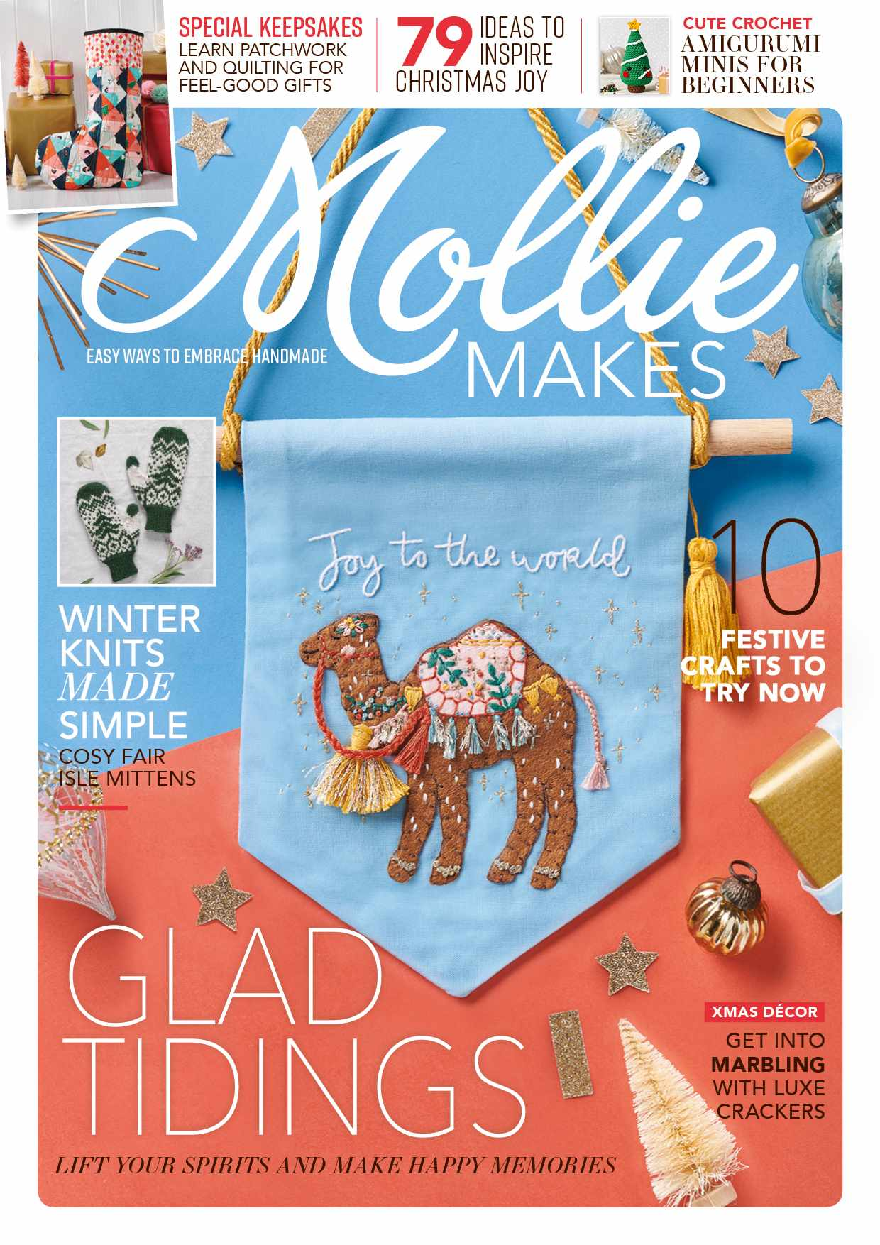 Mollie makes issue 123 cover