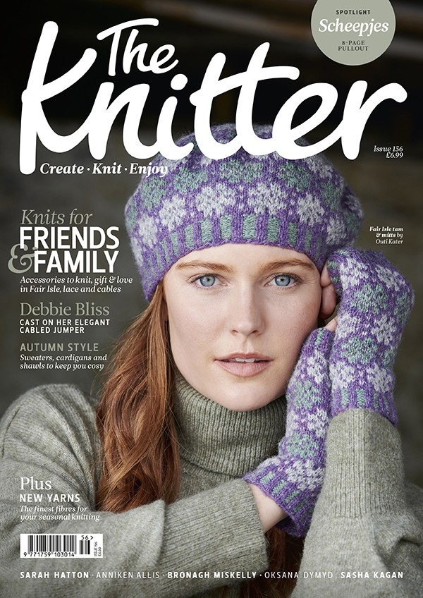 The Knitter 156 cover