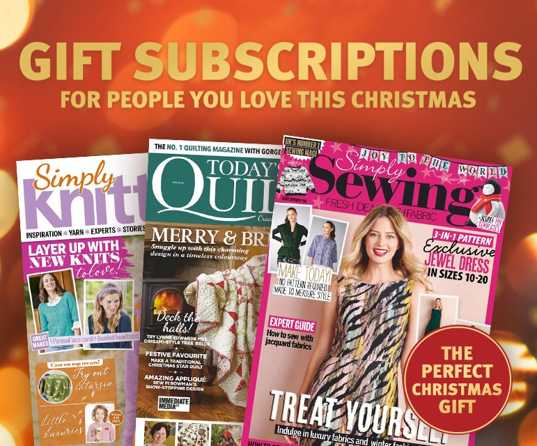 Christmas GIft subscriptions from £42.99