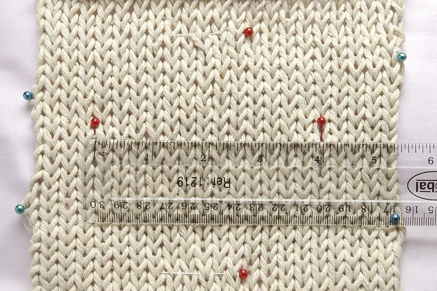 Knitting tension squares: what to do and why to do it