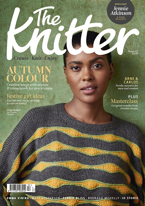 The Knitter 157 cover