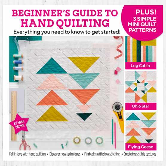 Beginner's Guide to Hand Quilting book