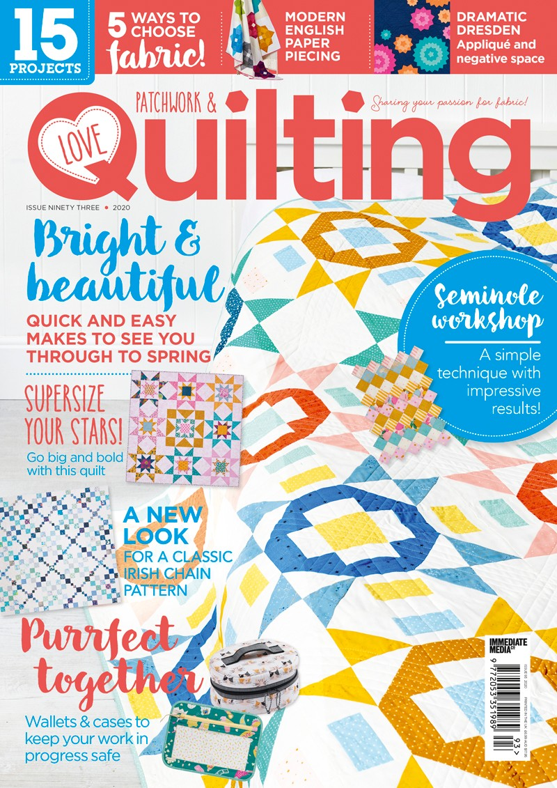 Love Patchwork & Quilting issue 93
