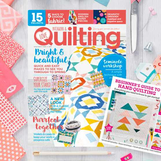 Love Patchwork & Quilting magazine issue 93