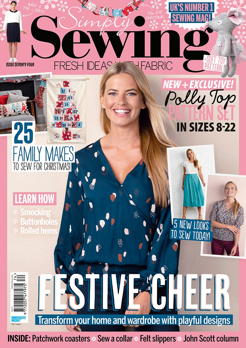 Simply Sewing magazine issue 74