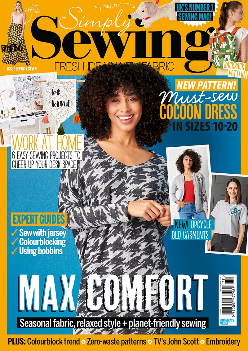 Simply Sewing magazine issue 77