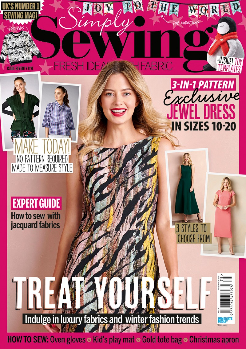 Simply sewing magazine issue 75