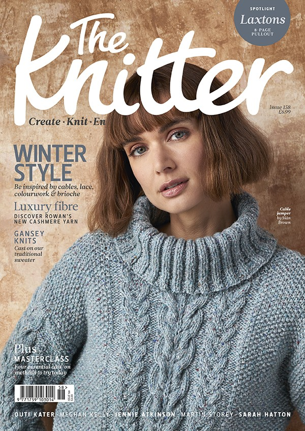 The Knitter 158 cover