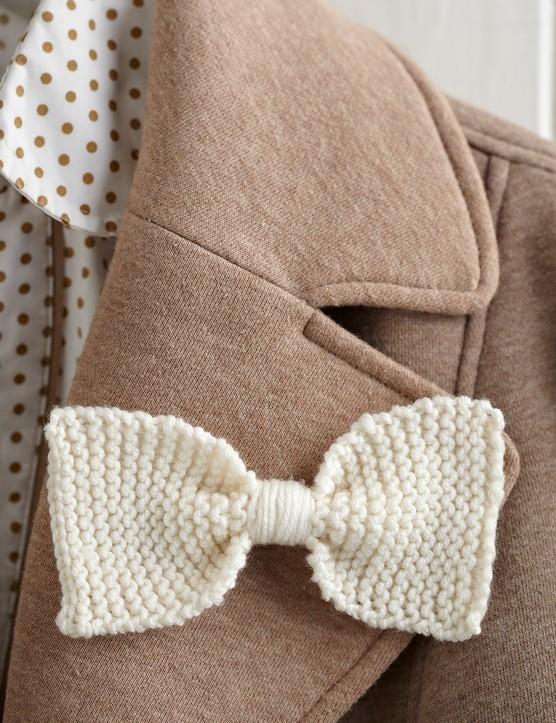 Bowtie knitting pattern