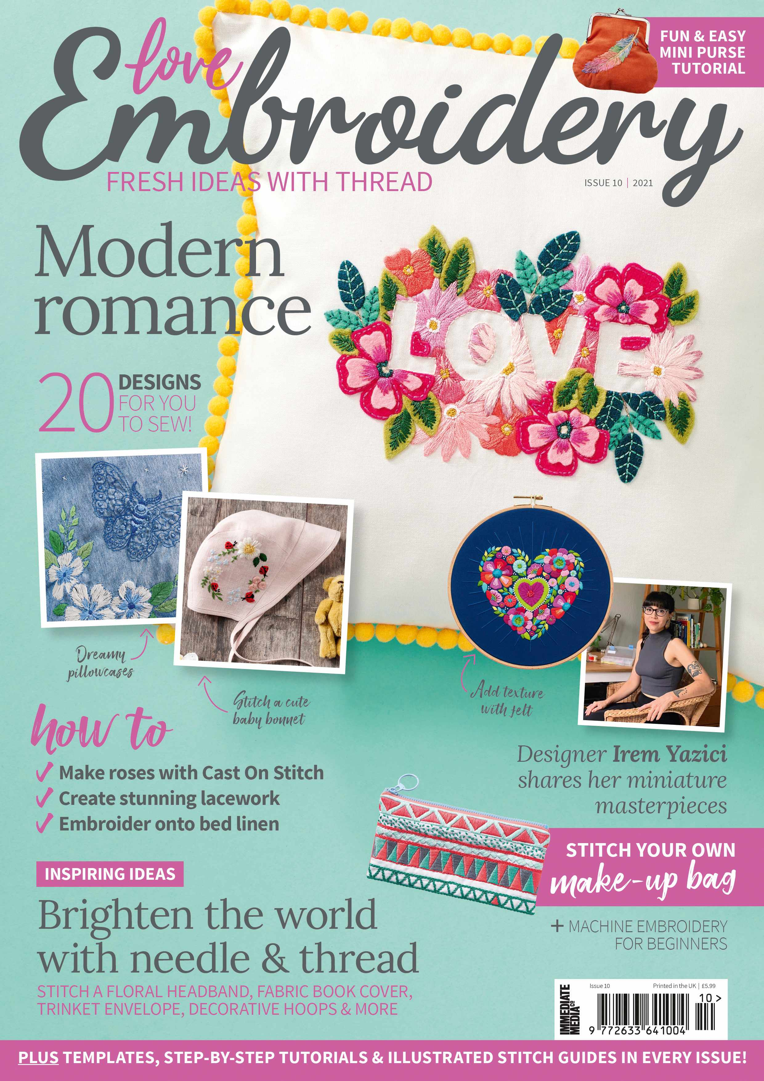 Love Embroidery magazine issue 10