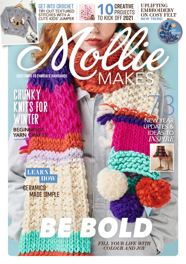 Mollie Makes issue 125